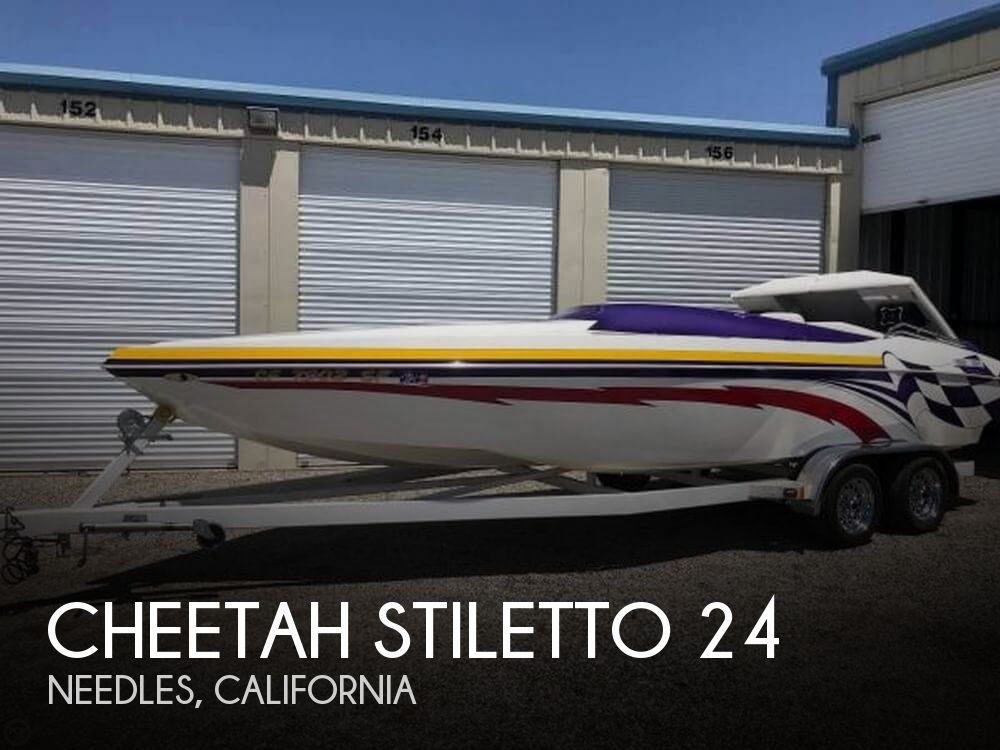 Used Cheetah Boats For Sale by owner   2001 Cheetah 24