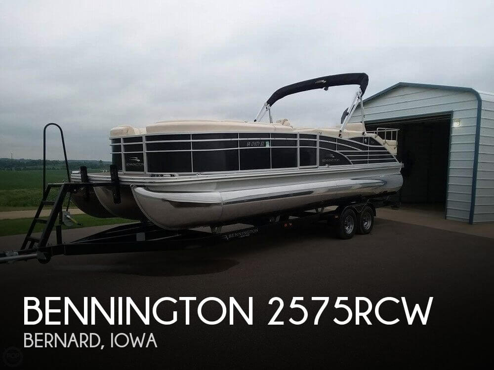 Used Boats For Sale in Cedar Rapids, Iowa by owner | 2012 Bennington 25