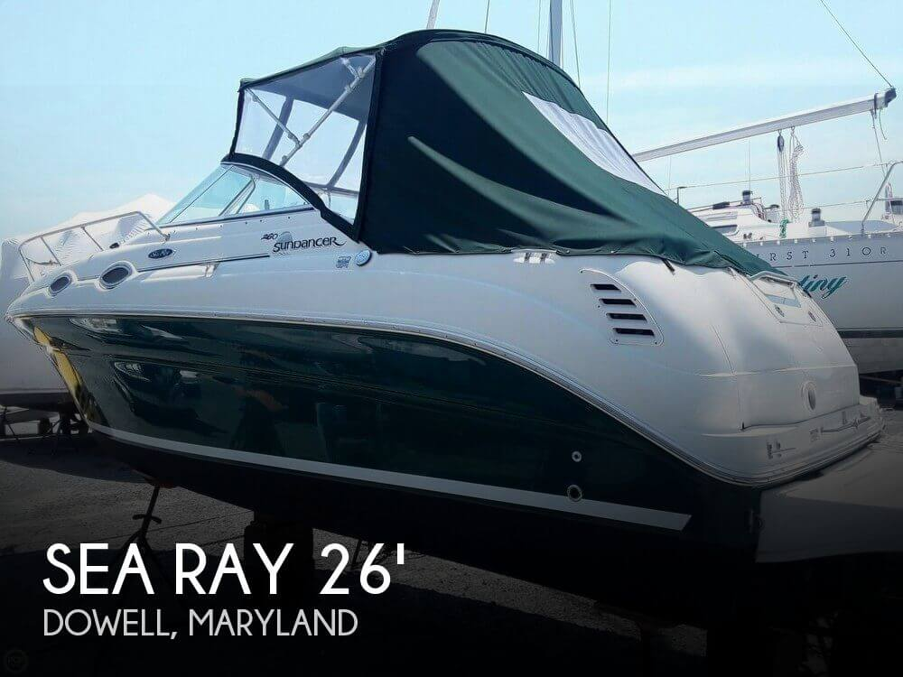Used Sea Ray 26 Boats For Sale by owner | 2004 Sea Ray 26