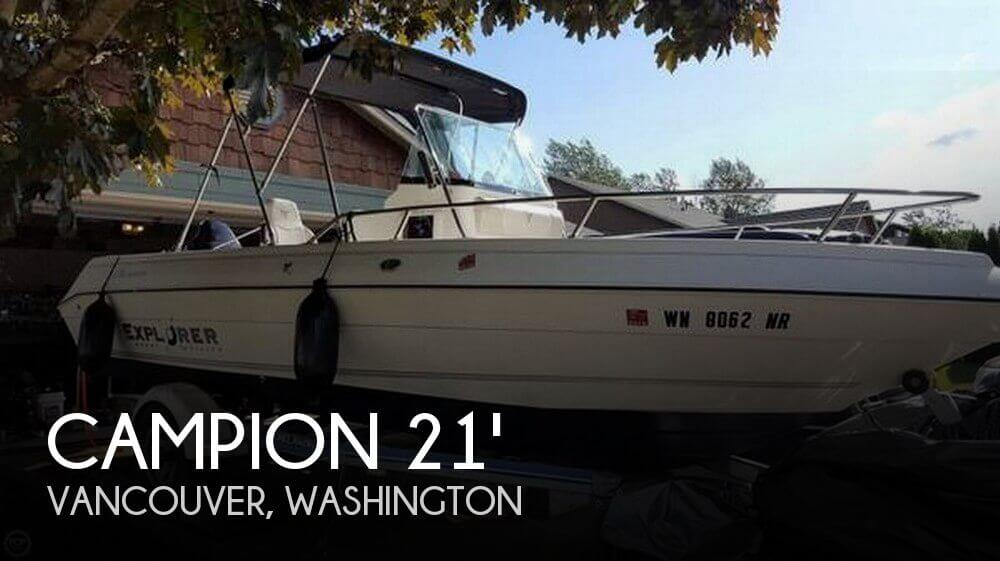 2005 CAMPION 582 EXPLORER for sale