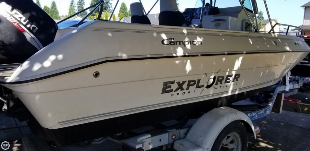2005 Campion boat for sale, model of the boat is 582 Explorer & Image # 28 of 41