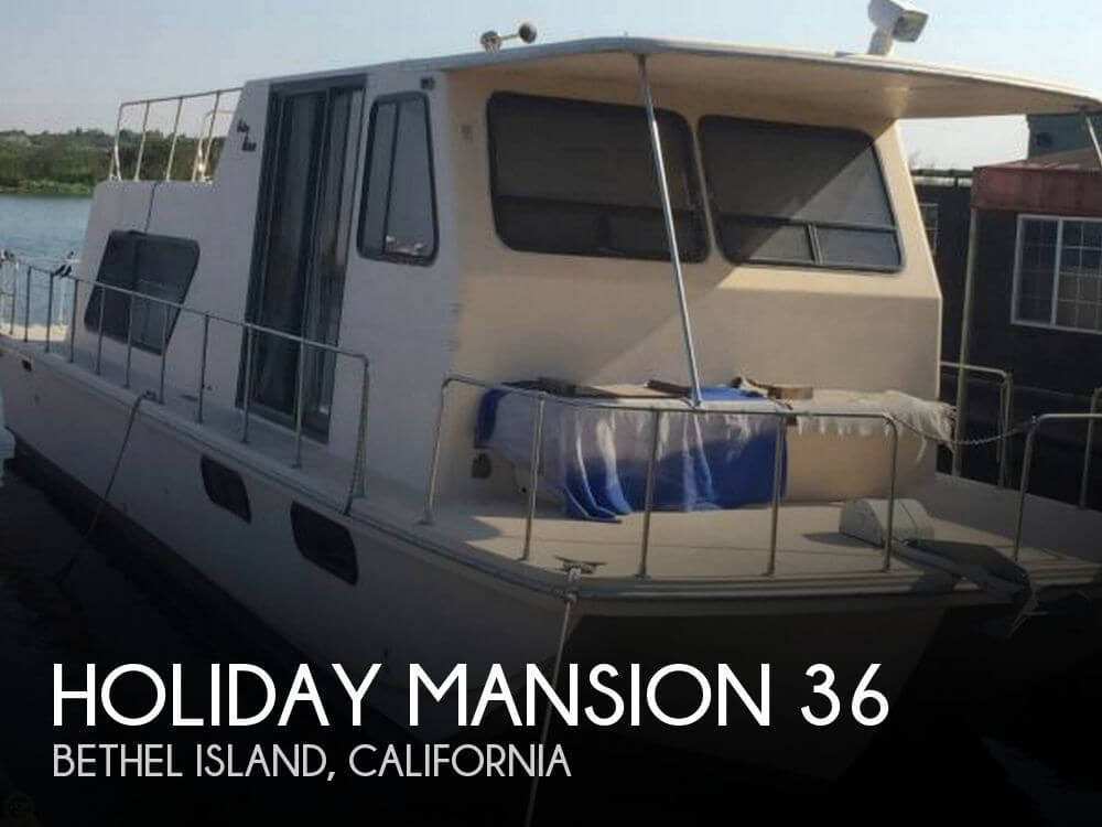 Used Holiday Mansion Houseboats For Sale by owner | 1992 Holiday Mansion 36