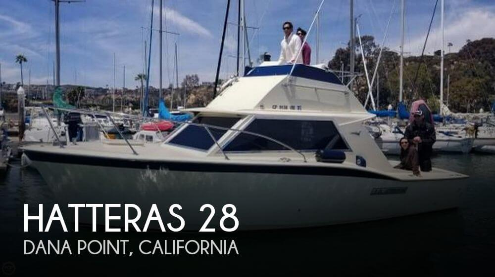 Used Boats For Sale in San Diego, California by owner | 1966 Hatteras 28