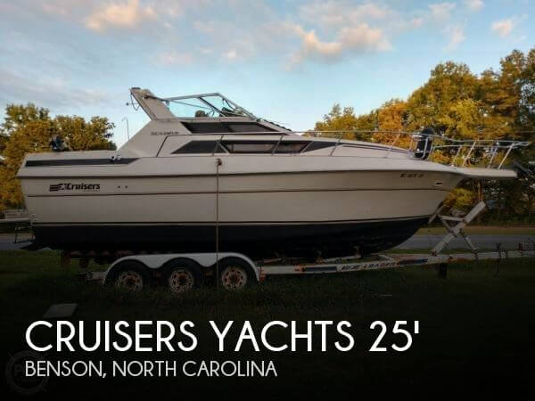 Used Boats For Sale by owner   1985 Cruisers Yachts 25