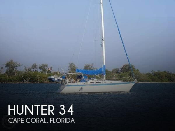 Used Hunter Sailboats For Sale in Florida by owner | 1983 Hunter 34