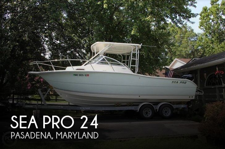 Used Sea Pro Boats For Sale by owner | 2006 Sea Pro 24