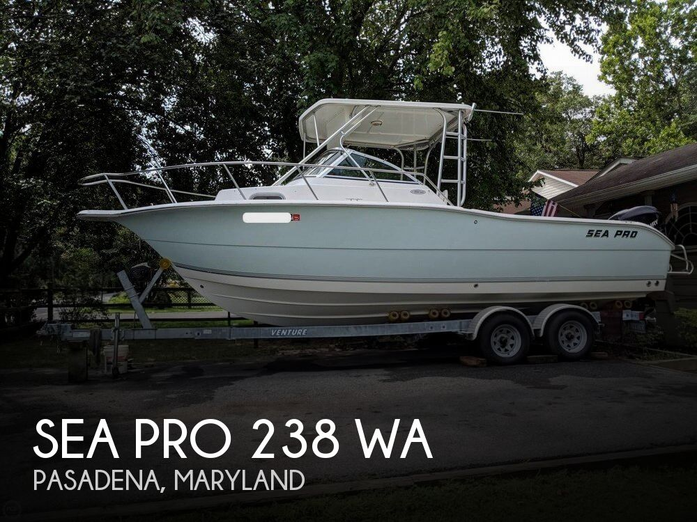 2006 Sea Pro boat for sale, model of the boat is 238 WA & Image # 1 of 40