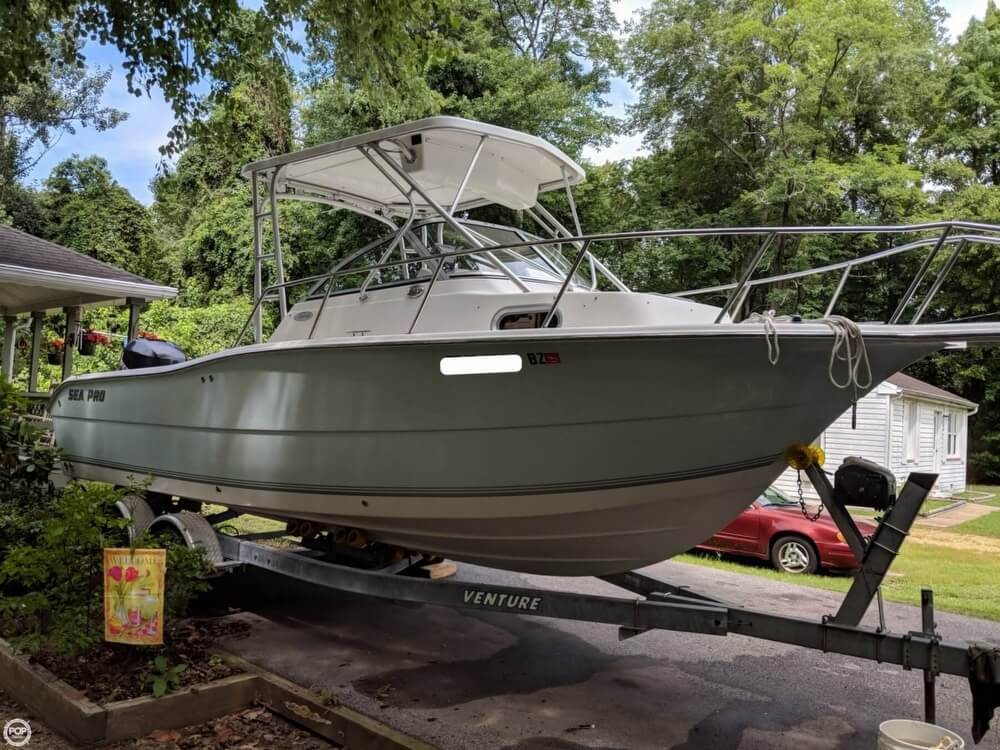 2006 Sea Pro boat for sale, model of the boat is 238 WA & Image # 2 of 40