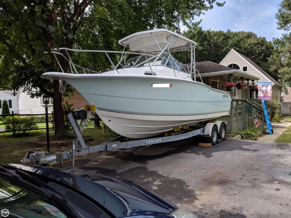 2006 Sea Pro boat for sale, model of the boat is 238 WA & Image # 3 of 40