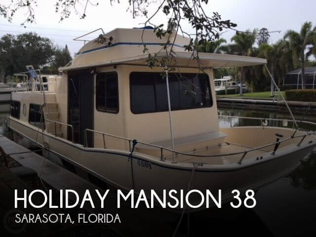 Used Holiday Mansion Houseboats For Sale by owner | 1988 Holiday Mansion 38