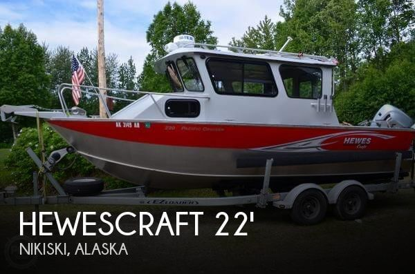 Used Boats For Sale in Anchorage, Alaska by owner | 2013 Hewescraft 22