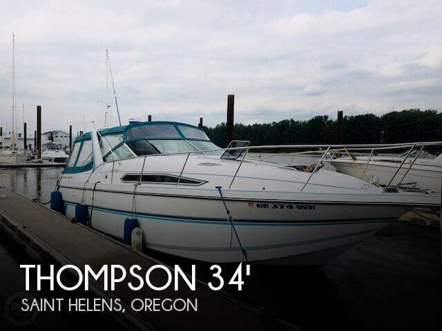 Used Thompson Boats For Sale by owner | 1992 Thompson 34