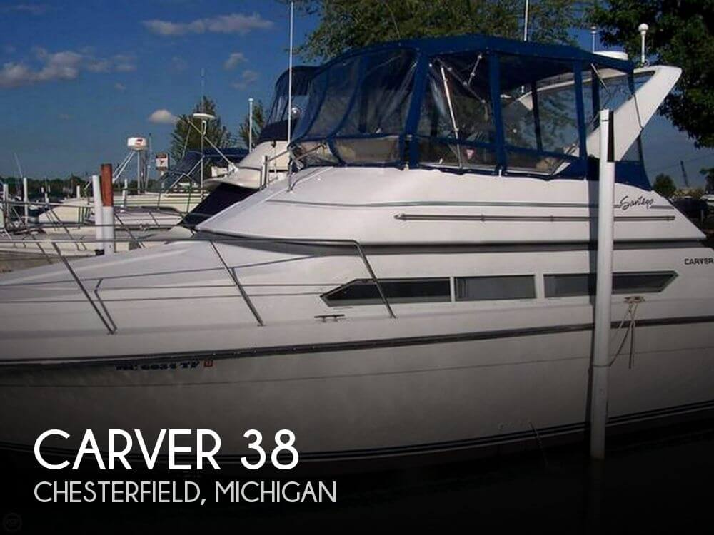 Used Motoryachts For Sale in Michigan by owner | 1995 Carver 38