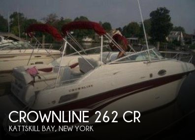 Used Boats For Sale in Springfield, Massachusetts by owner | 2003 Crownline 26