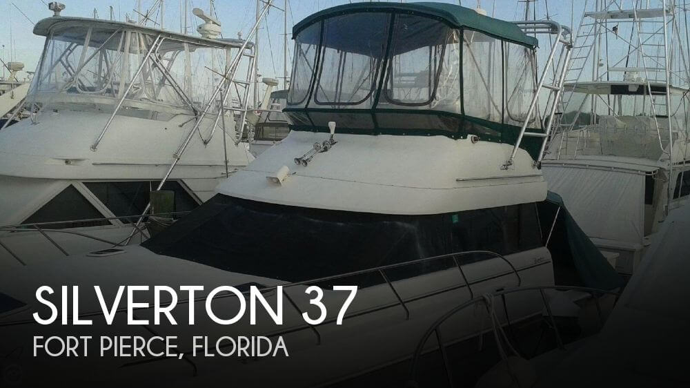 Used Silverton Fishing boats For Sale by owner | 1994 Silverton 37