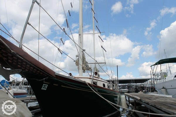 1977 Fuji boat for sale, model of the boat is Ketch 32 & Image # 3 of 28