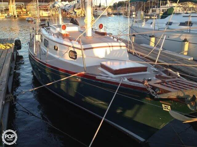 1977 Fuji boat for sale, model of the boat is Ketch 32 & Image # 23 of 28