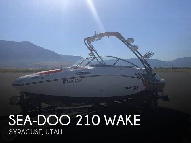Used Boats For Sale in Utah by owner | 2012 Sea-Doo 21