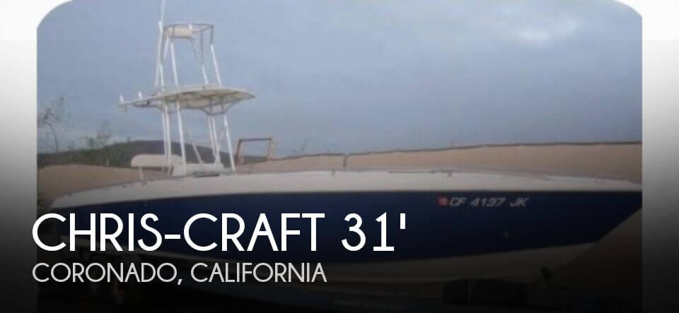 Used Chris-Craft Boats For Sale in California by owner | 1987 Chris-Craft 31