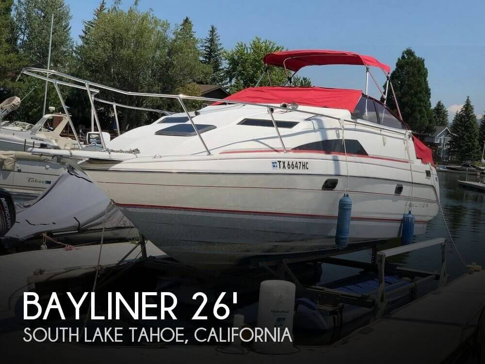 Used Boats For Sale in Reno, Nevada by owner | 1990 Bayliner 26
