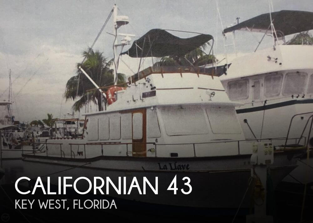 Used Californian Boats For Sale by owner | 1983 Californian 43