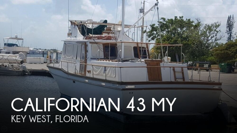 1983 Californian boat for sale, model of the boat is 43 MY & Image # 1 of 40