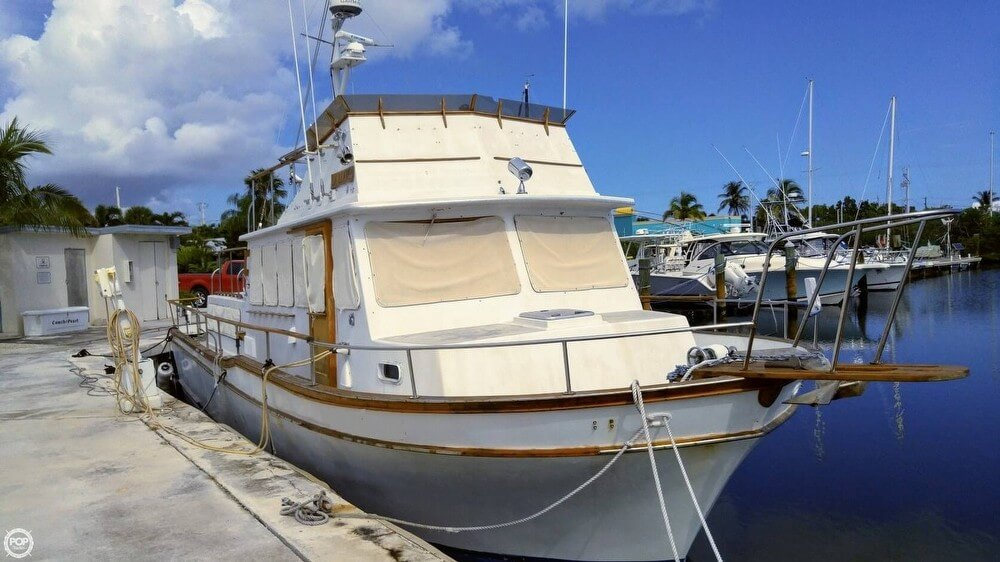 1983 Californian boat for sale, model of the boat is 43 MY & Image # 2 of 40