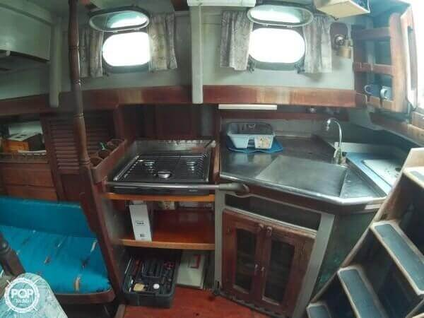1974 Sea Wolf boat for sale, model of the boat is 45 & Image # 2 of 40