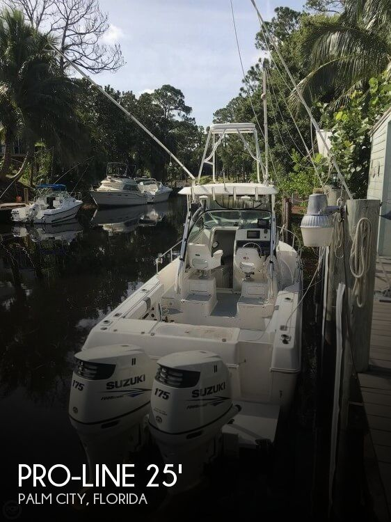 Used Pro-Line Boats For Sale in Florida by owner | 1998 Pro-Line 251 Walkaround
