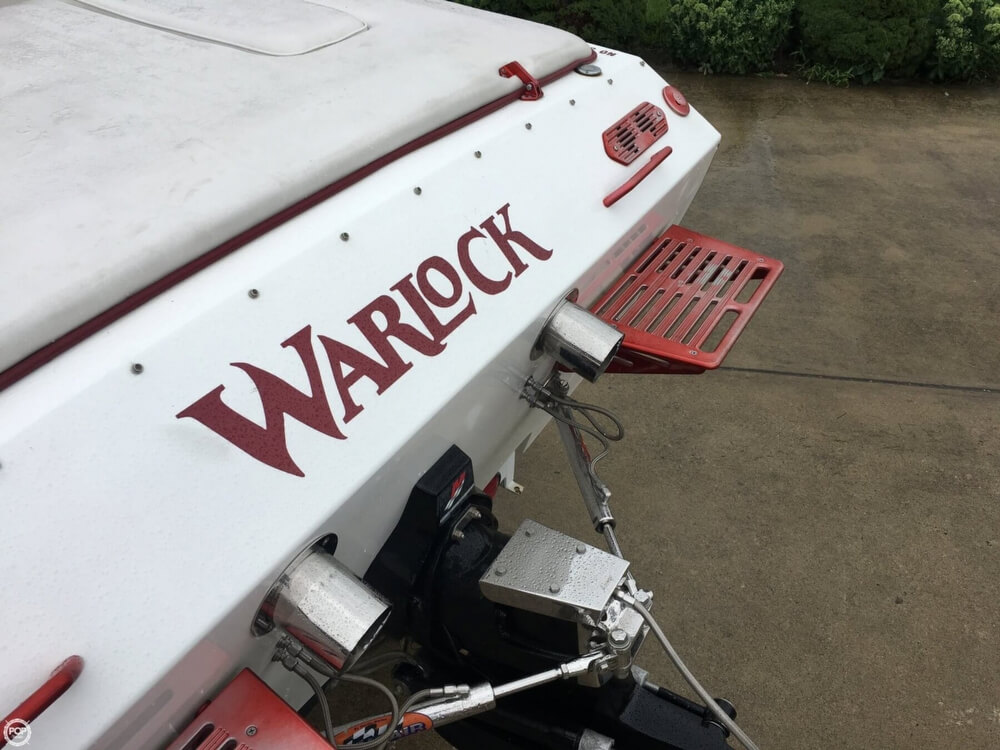 2003 Warlock boat for sale, model of the boat is Hawaiian & Image # 40 of 40