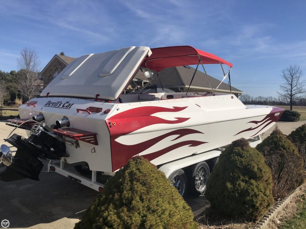 2003 Warlock boat for sale, model of the boat is Hawaiian & Image # 5 of 40