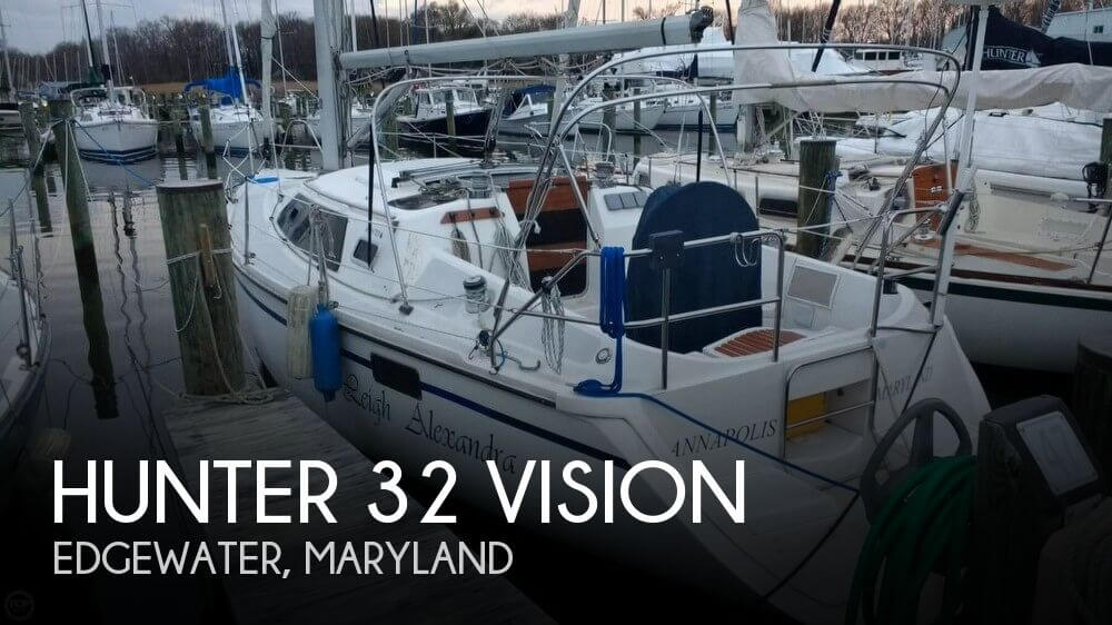 Used Hunter Boats For Sale in Maryland by owner | 1990 Hunter 32