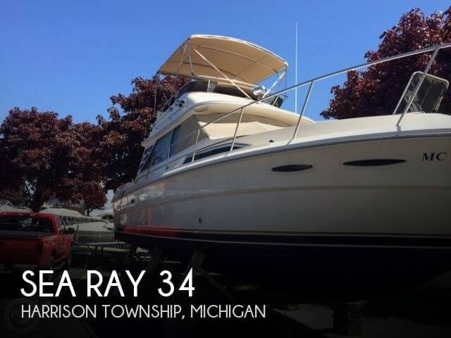 Used Sea Ray Boats For Sale in Michigan by owner | 1984 Sea Ray 34