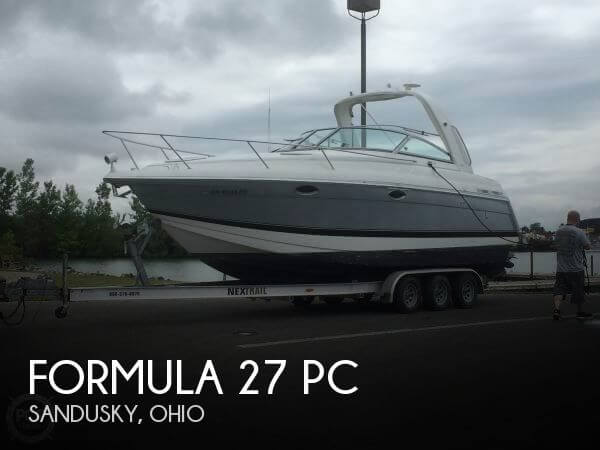 Used Boats For Sale in Cleveland, Ohio by owner | 2005 Formula 28