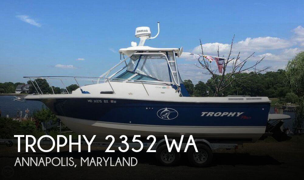 Used Ski Boats For Sale in Maryland by owner | 2006 Trophy 23