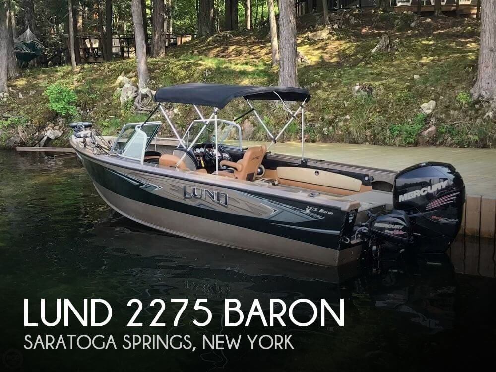 Used Boats For Sale in Albany, New York by owner   2016 Lund 23