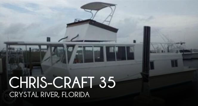 Used Houseboats For Sale in Florida by owner | 1970 Chris-Craft 35