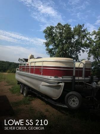 Used Lowe Pontoon Boats For Sale by owner | 2016 Lowe 21