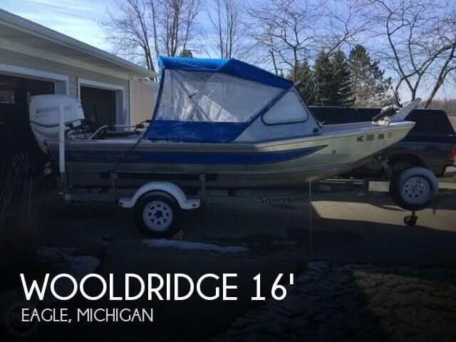 Used Fishing boats For Sale in Michigan by owner | 1998 Wooldridge 16