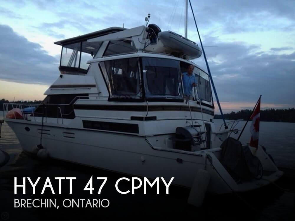 Used Hyatt Boats For Sale by owner | 1993 Hyatt 47