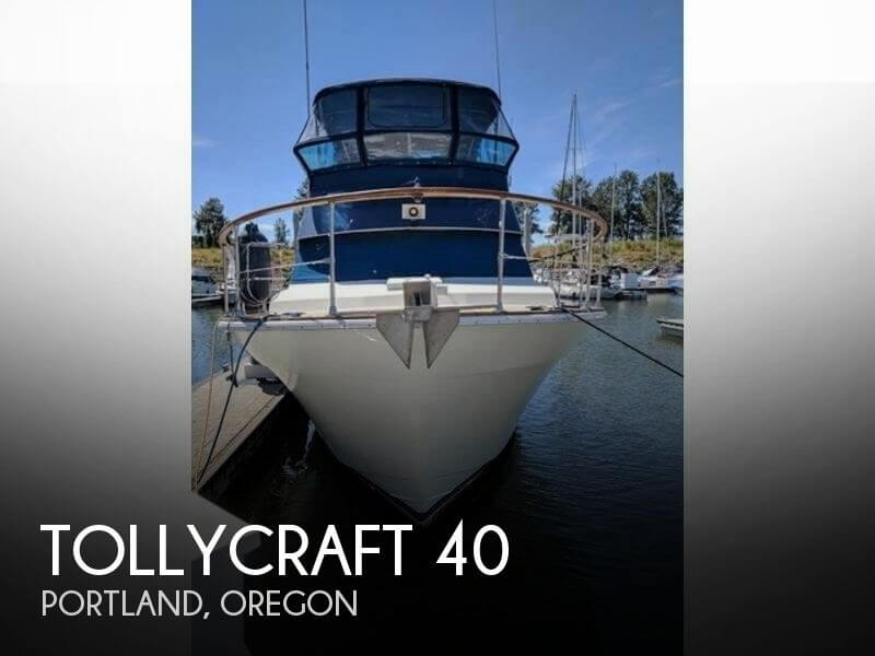 Used Boats For Sale in Portland, Oregon by owner | 1979 Tollycraft 40