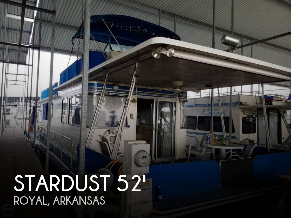 Used Houseboats For Sale in Arkansas by owner | 1985 Stardust 52