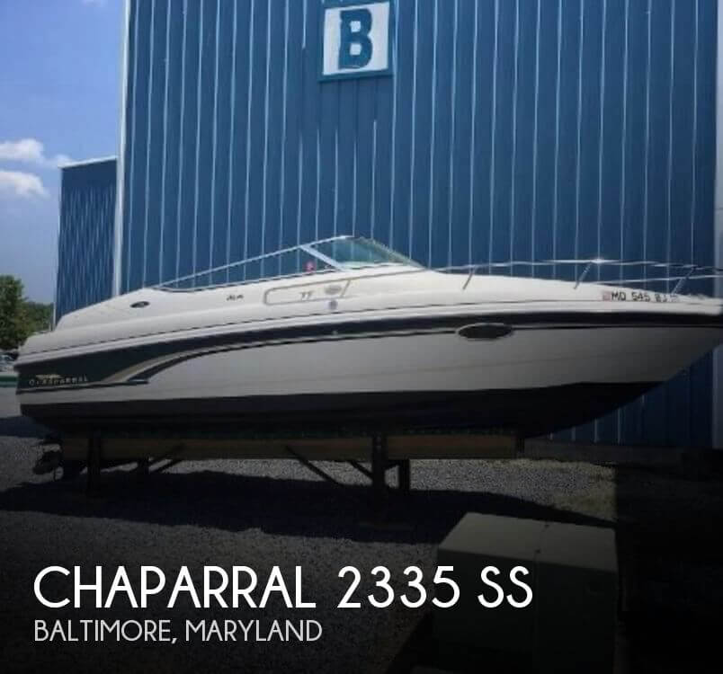 Used Chaparral 2335 SS Boats For Sale by owner | 1999 Chaparral 2335 SS