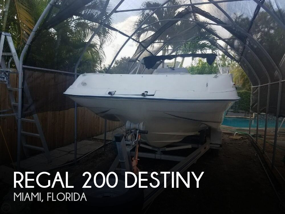 Used Deck Boats For Sale by owner | 1998 Regal 20