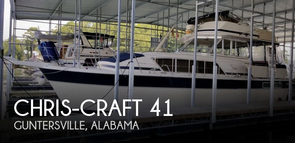 Used Boats For Sale in Birmingham, Alabama by owner | 1985 Chris-Craft 41