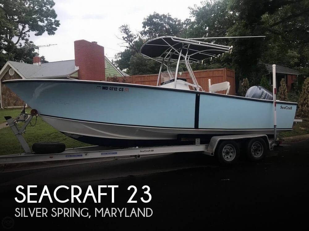 Used Boats For Sale in Hagerstown, Maryland by owner | 1987 SeaCraft 23
