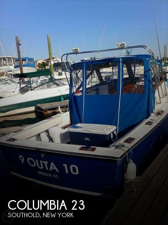 Used Boats For Sale in Providence, Rhode Island by owner | 1988 Columbia 23