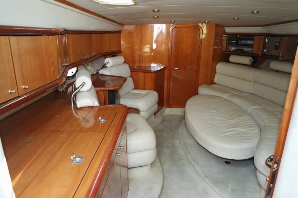 2003 Sunseeker boat for sale, model of the boat is Superhawk 48 & Image # 11 of 40