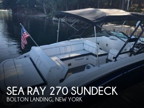 Used Deck Boats For Sale by owner | 2015 Sea Ray 27