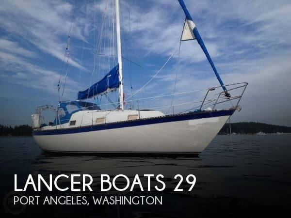 Used Sailboats For Sale in Washington by owner | 1982 Lancer Boats 29